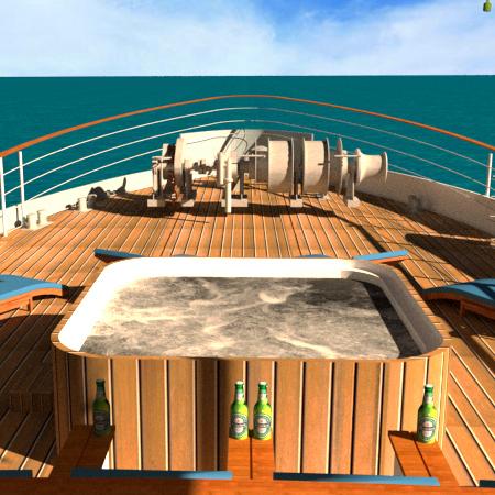 Upper Deck Outdoor Lounge