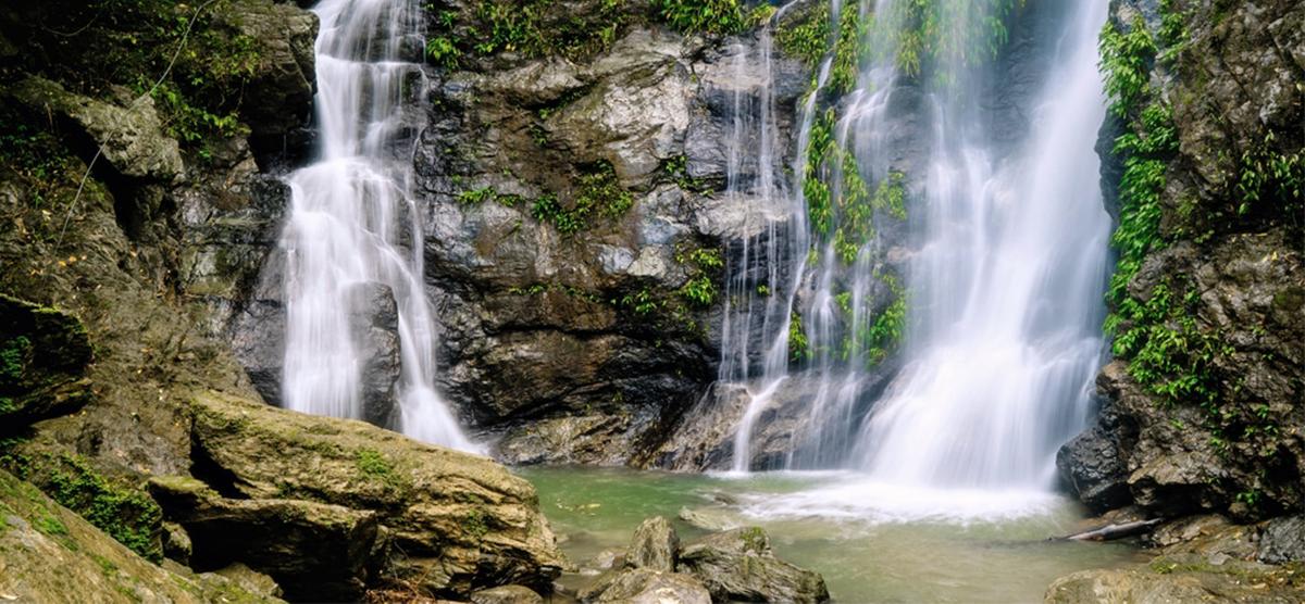 Waterfall in Puerto Galera